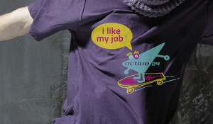 t-shirt A24 I like my job [skateboard]